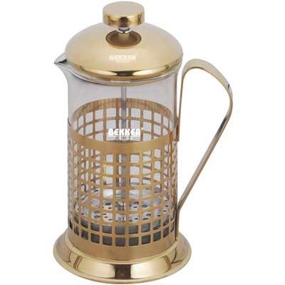 """BK-365 Кофейник/заварочный чайник - """"френч-пресс"""" DeLux"""